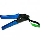 Plomberingstang ergonomisk ratchet hånd