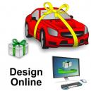 Gavebånd design online