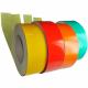 Reflective adhesive rolls