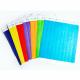 Papirfestival armbånd i forskjellige farger uten trykk