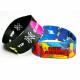 Polyester tekstilfestivalen armbåndsband trykt i full farge