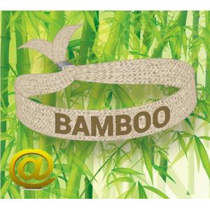 Festivalarmbånd laget av bærekraftig bambusstoff