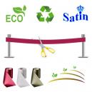 Innvielsesbånd uten trykk. Organisk, miljøvennlig og bærekraftig.