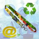Bærekraftige og miljøvennlige trykte nøkkelbånd
