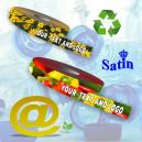 Bærekraftige og resirkulerte gavebånd laget av ECO REPET stoff