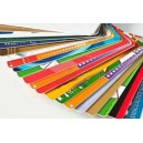 Diverse PVC-kort med fargeutskrift