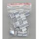 Aluminium krympe ringer i en PP pose