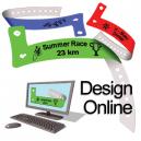 Plast armbånd LX designer