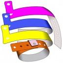 Plast armbånd L uten tryk
