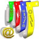 Plast armbånd L send din design