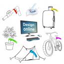Markeringsbånd trykk Design selv