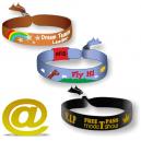 Tekstil vevd festival armbånd send din design
