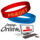 Silikone armbånd præget Design Online