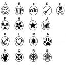 Håndstempel til UV / VM stempelvæske