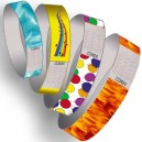 Papir armbånd forhånds trykk multi farge