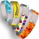 Papir armbånd uden tryk multi farve