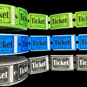Rulle billetter