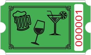 Drinks rulle - Grønn