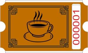 Kaffe rulle - Brun