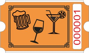 Drinks rulle - Orange